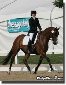 winning the FEI Four Year Old National Title 2006